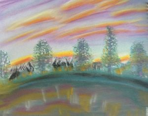 Lakeside - Danny Jefferis Art