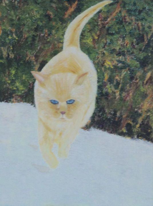 'Mr LIlo' - Danny Jefferis Art