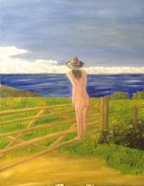 The nude in Bude - Danny Jefferis Art