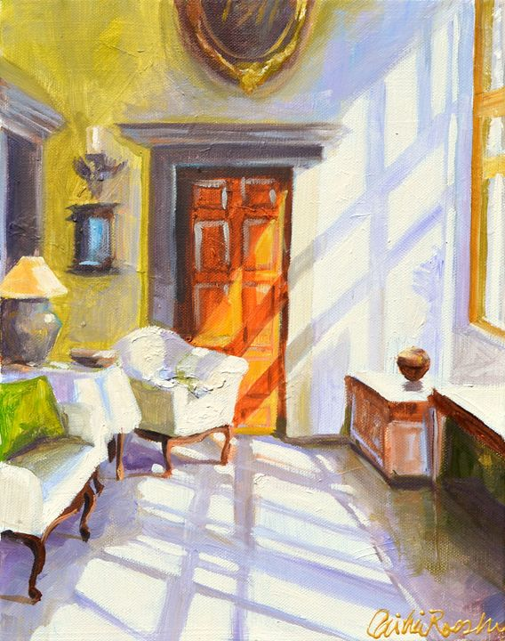 SUN DRENCHED INTERIOR - CECILIA ROSSLEE
