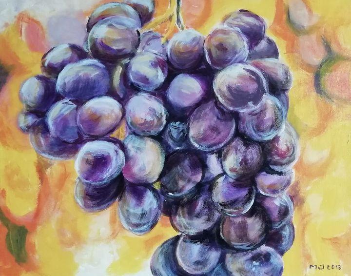 La Grappe de raisin - Marie-José Campos