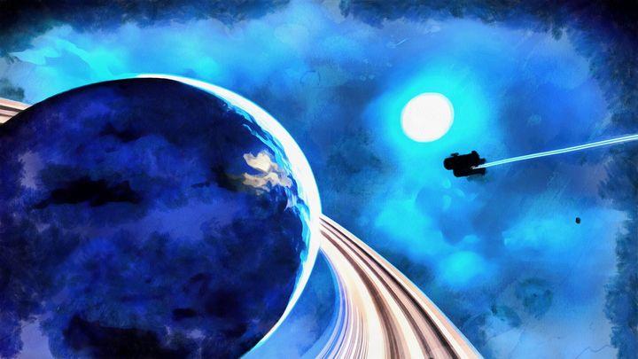 Blue Destination - Space Dreams