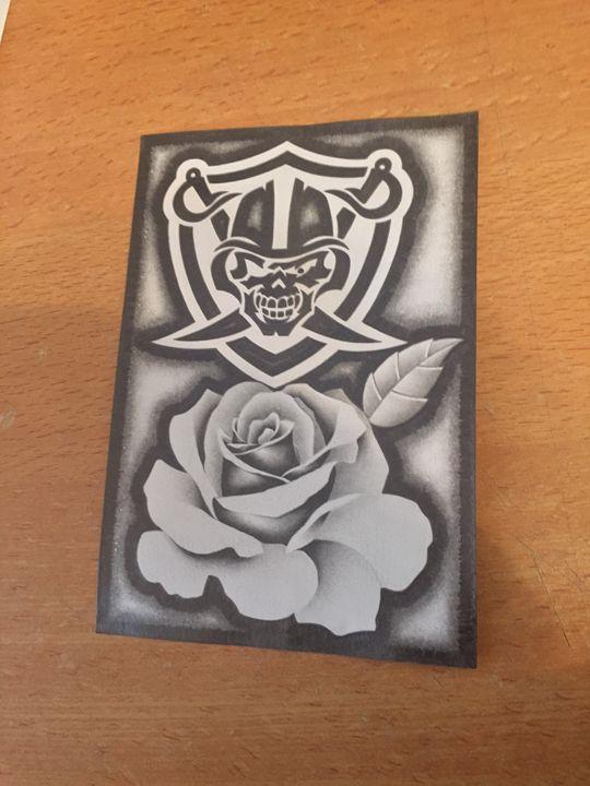 Oakland Raiders - Green Eyes Arte