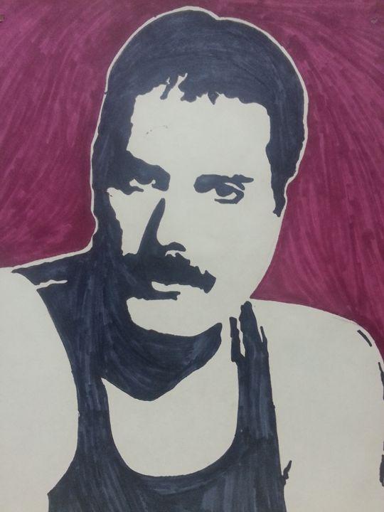 Freddie Mercury - Lauren Medvig
