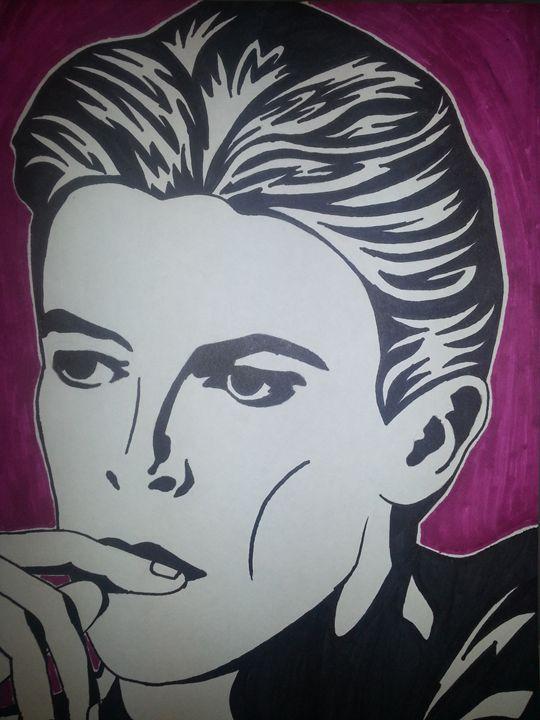 David Bowie - Lauren Medvig