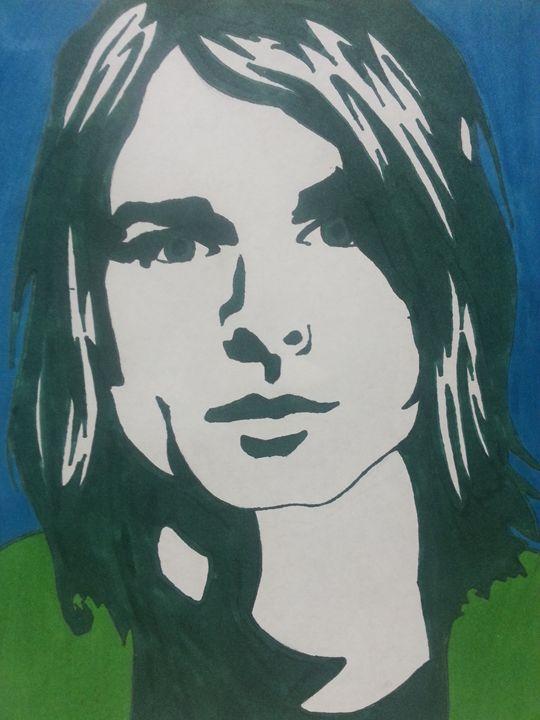 Kurt Cobain - Lauren Medvig