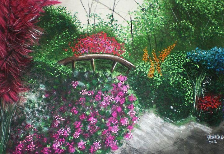 English-style Garden - Shannon Gerdauskas