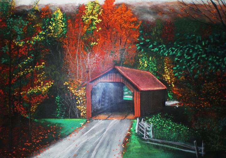 Cornwall Covered Bridge, CT - Shannon Gerdauskas