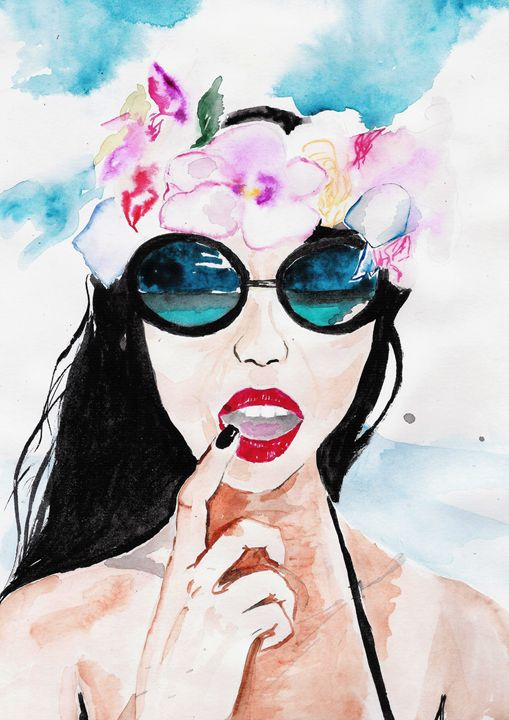 Hawaiian Beauty - TattyArty