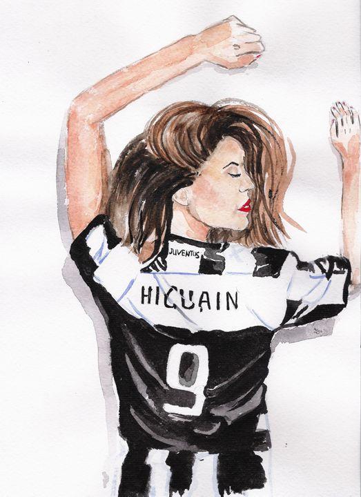 Juventus Soccer Fan - TattyArty