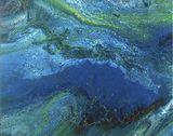 Lush Landfall Original Painting