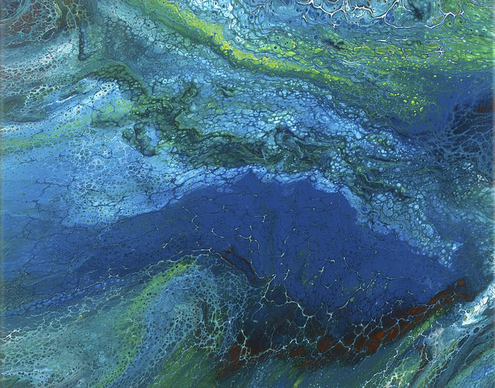 Lush Landfall - Creative Saint Keith Neil's Art Gallery