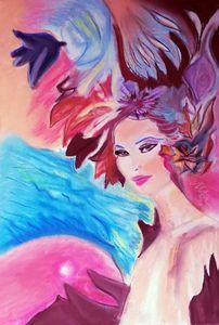 Spring Awakening, Pastel on Paper,