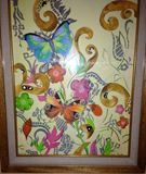 28x36 Butterfly Haven