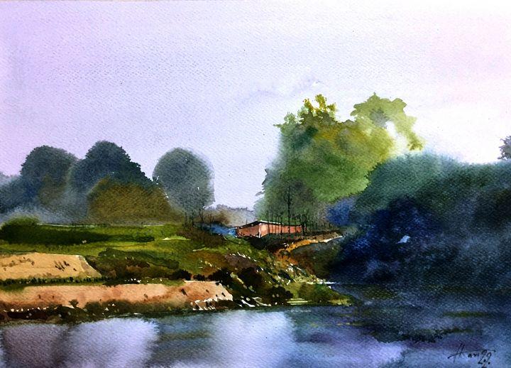 landscape - Hari Artist