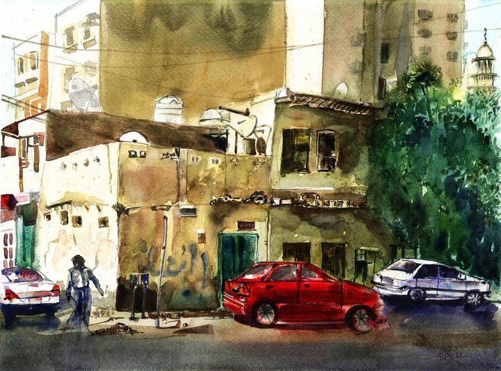 Doha Street - Hari Artist