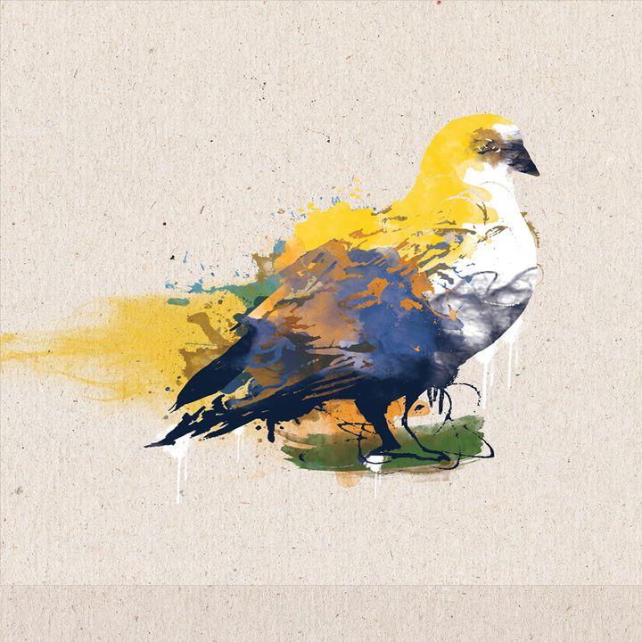 yellow dove - Hari Artist