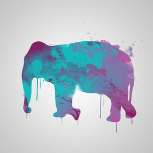 Elephent abstract