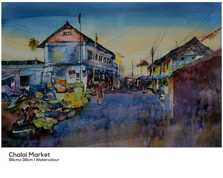 Chalai Market, Trivandrum - Hari Artist
