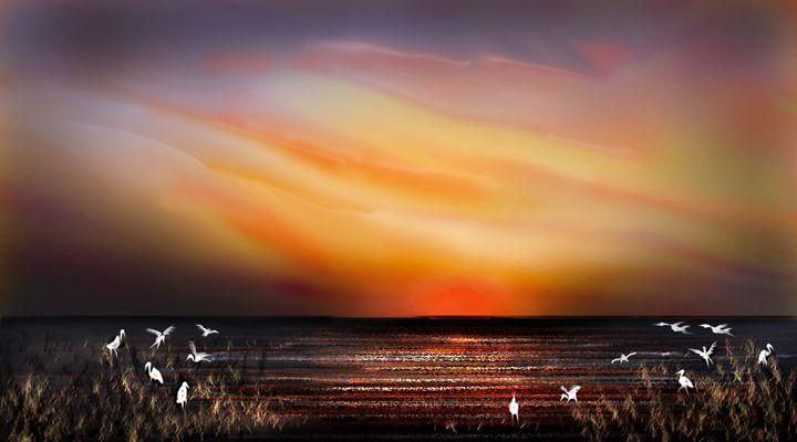 coloured evening - Martin Vincent