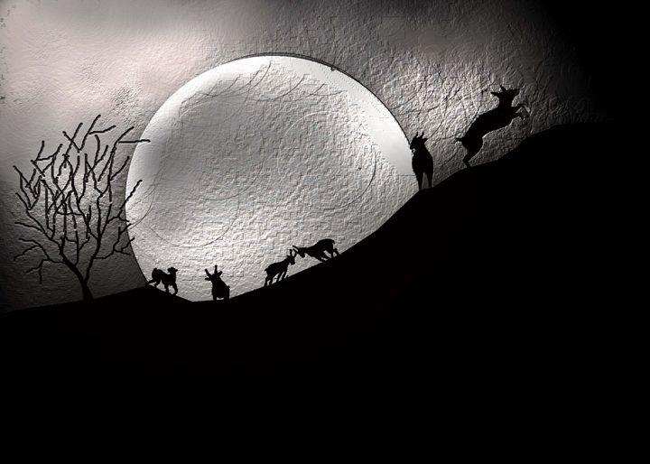 moon walk - Martin Vincent