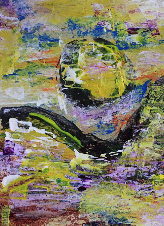 Yellow Moon - Al Burton Art