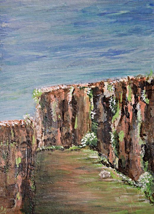 Ambush Canyon - Al Burton Art