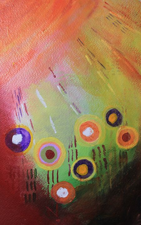 Flower Abstract - Al Burton Art