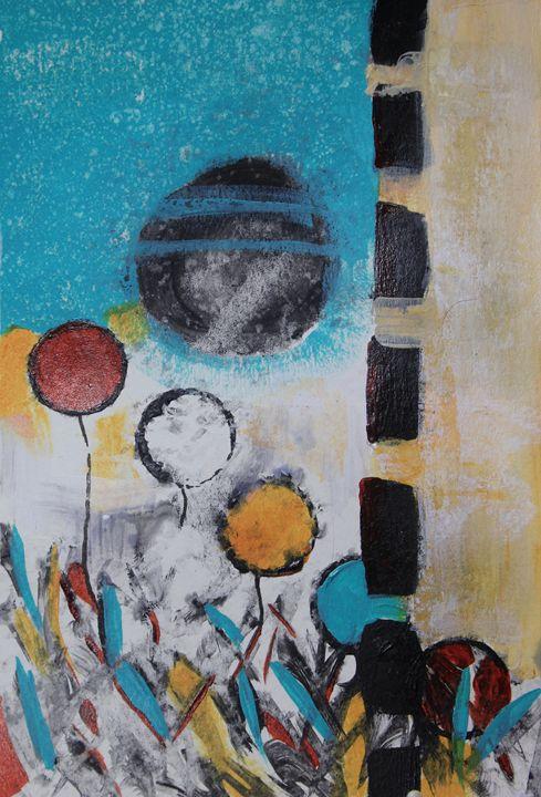 Morning Flowers - Al Burton Art