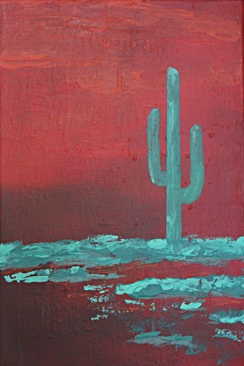 Desert Red - Al Burton Art