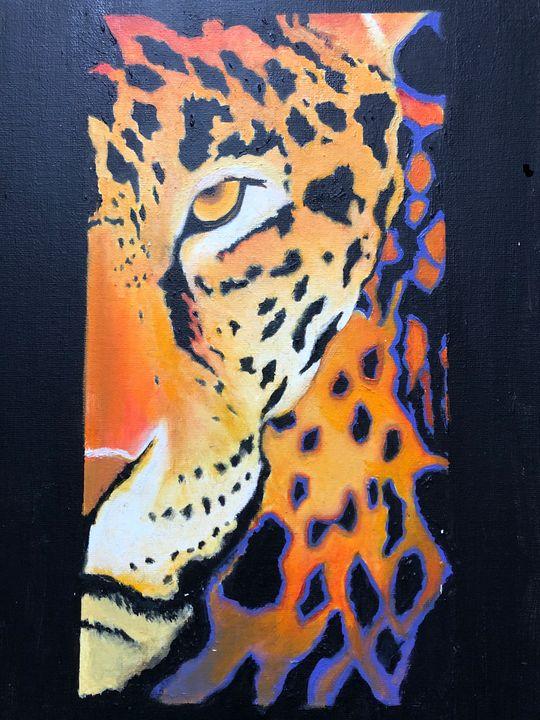 Leopard - art by Chelsea Abrahamsson