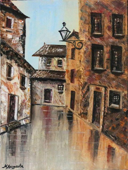Viela - Narrow Street - Maria Augusta Martins - Artwork