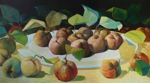 Still-Life with Apples, Reconsidered