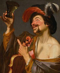 Gerard van Honthorst A merry violini