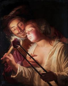 Gerard van Honthorst The Soldier and