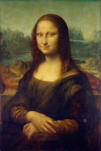 Leonardo da Vinci 1503 Mona Lisa - TOPART GALLERY