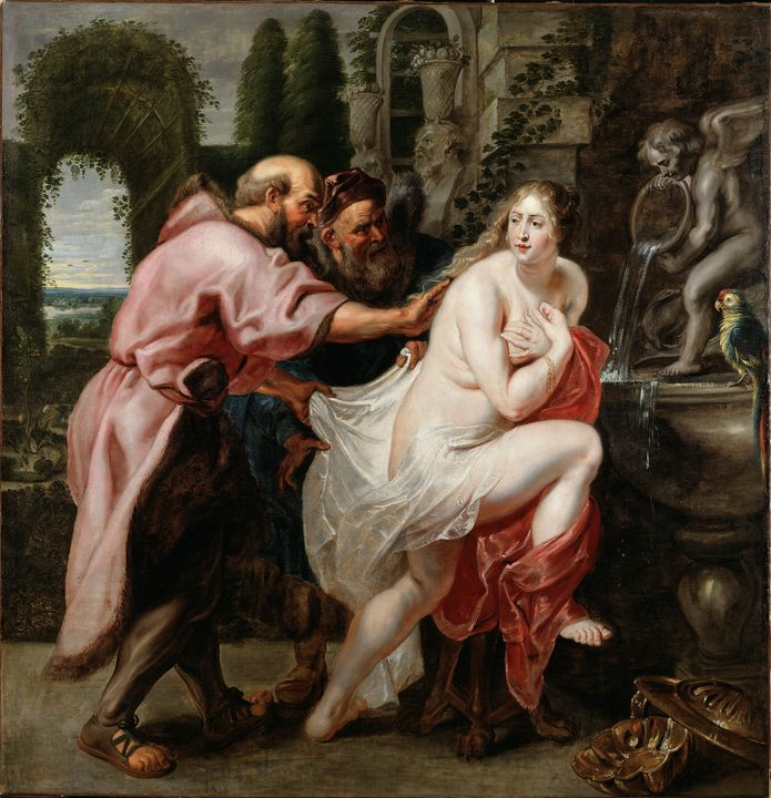 Peter Paul Rubens Susanna and the El - TOPART GALLERY