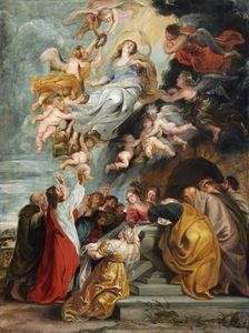 Peter Paul Rubens The Assumption of