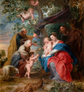 Peter Paul Rubens The Holy Family un