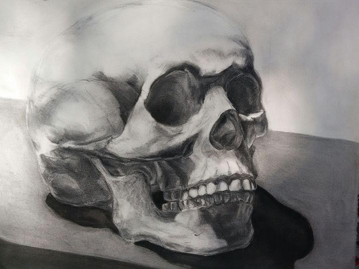 Shakespeare  skull - dark art
