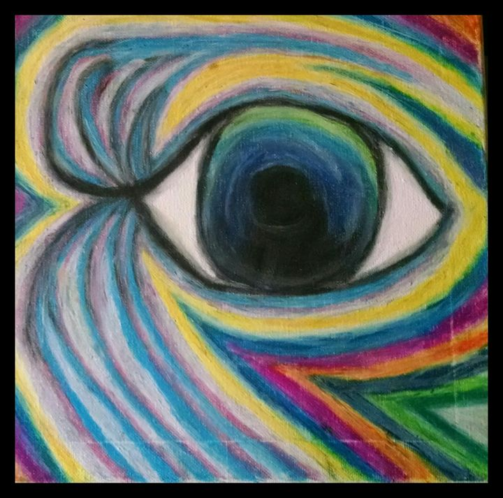 Rainbow eye - Momartist