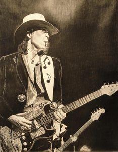 Stevie Ray Vaughan - Native Texan Artistry/Charles Rogers
