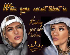 Secret Talent - CrysInSJC