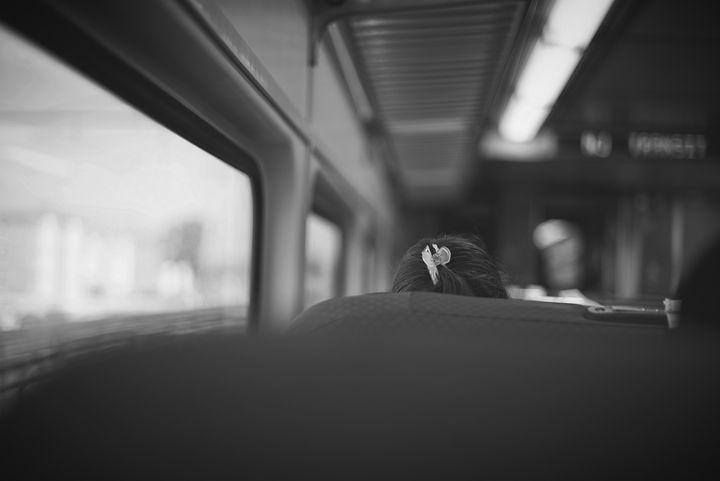 Girl On The Train - Wayne Jason Gilbert Photography