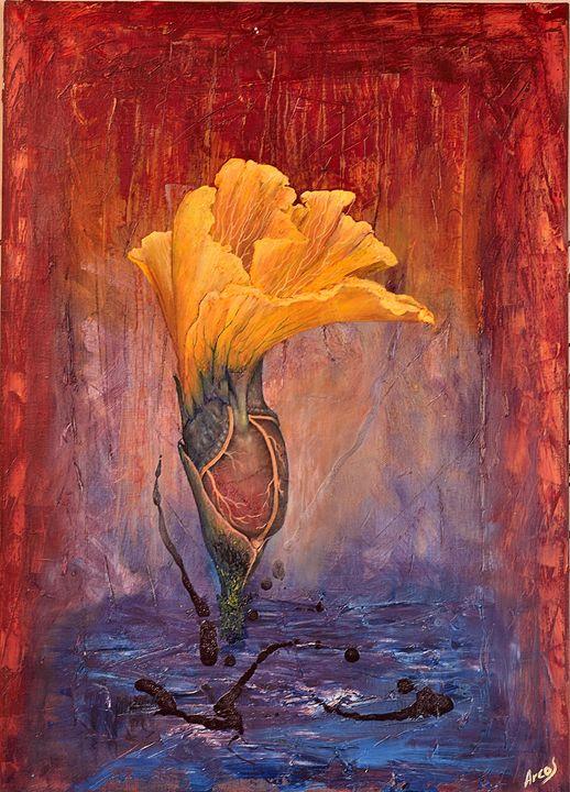 Sacred flower - Arturo Arcos