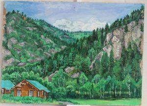 Camp Elragor. Altai.
