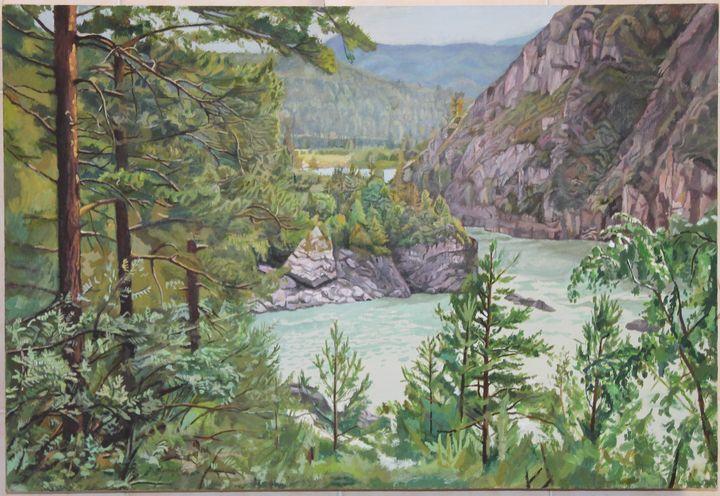 Katun River in Altai - Victor Mochalov