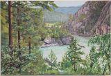 Katun River in Altai