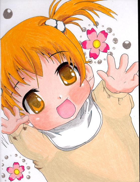 Anime Kawaii Baby Drawing - JIN