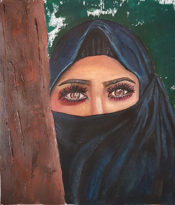 Women with veil - Daniela Ciutan